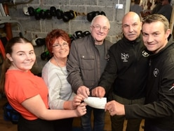 Wellington club gets £450 in memory of boxer