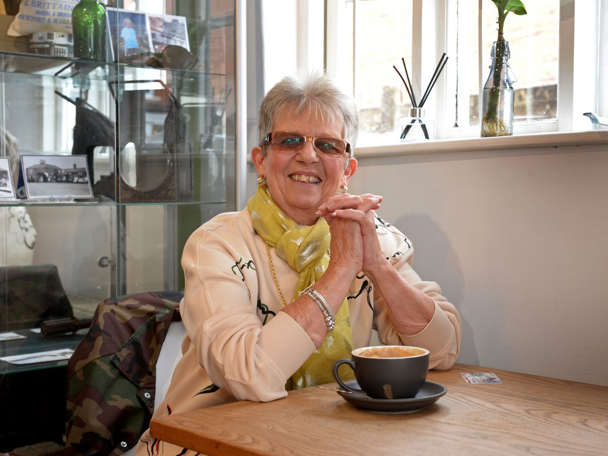 Elaine Burborough said it is important to focus on the positives in worrying times