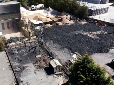 Police appeal for witnesses to huge industrial estate fire