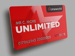 WIN: free Unlimited cinema for 12 months courtesy of Cineworld Shrewsbury