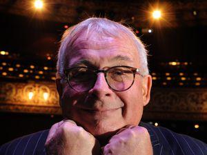 WOLVERHAMPTON PIC DAVID HAMILTON PIC EXPRESS AND STAR 27/10/2017 Making an appearance at Wolverhampton Grand Theatre, Christopher Biggins..