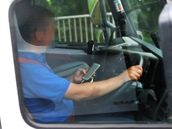 How M6 spy lorry is catching drivers using mobile phones
