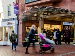 Claim over footfall rise at Shrewsbury shopping centres questioned