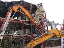 Demolition work finishes ahead of new housing HQ