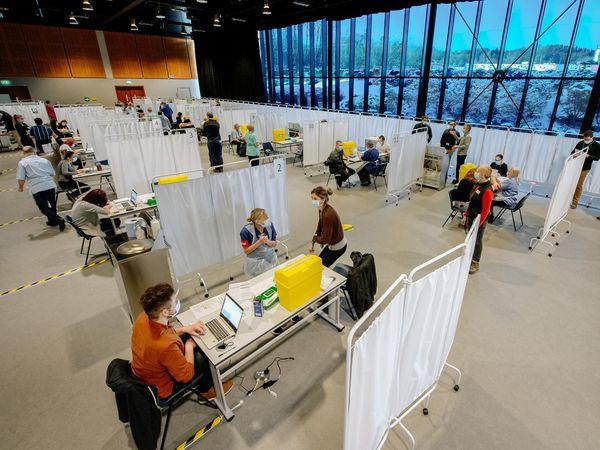 People can get their coronavirus vaccine at Telford International Centre