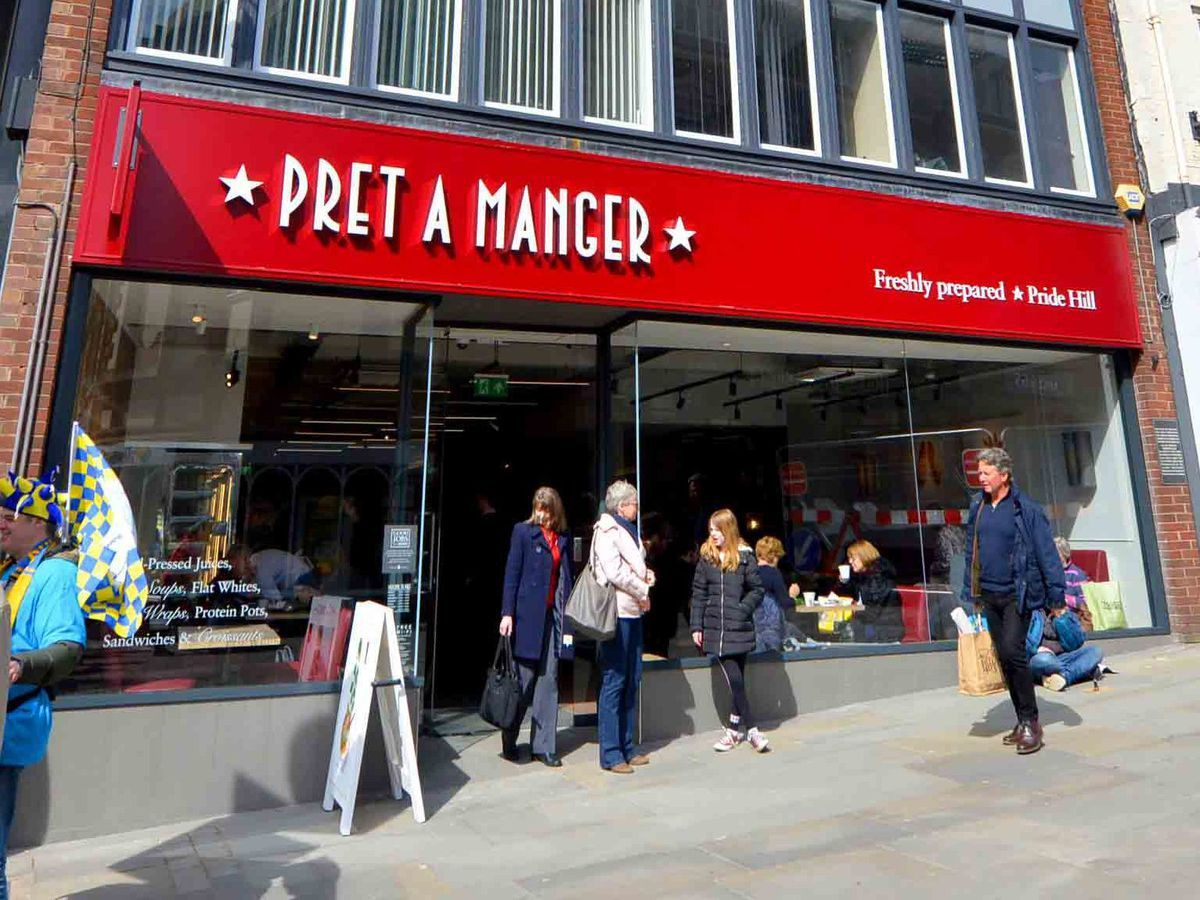 Pret a Manger has reversed its decision to close its Shrewsbury store