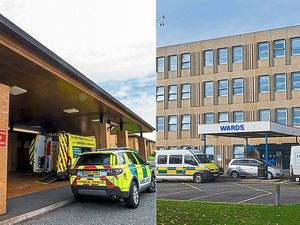 Telford's Princess Royal Hospital and Royal Shrewsbury Hospital