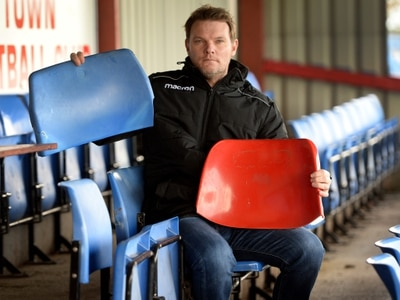Market Drayton FC counts costs as seating vandalised - with video
