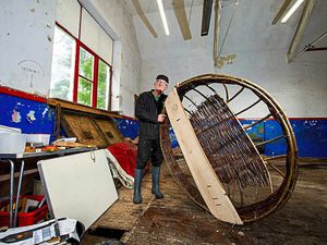 Seeking a new future for coracle man Peter's workshop