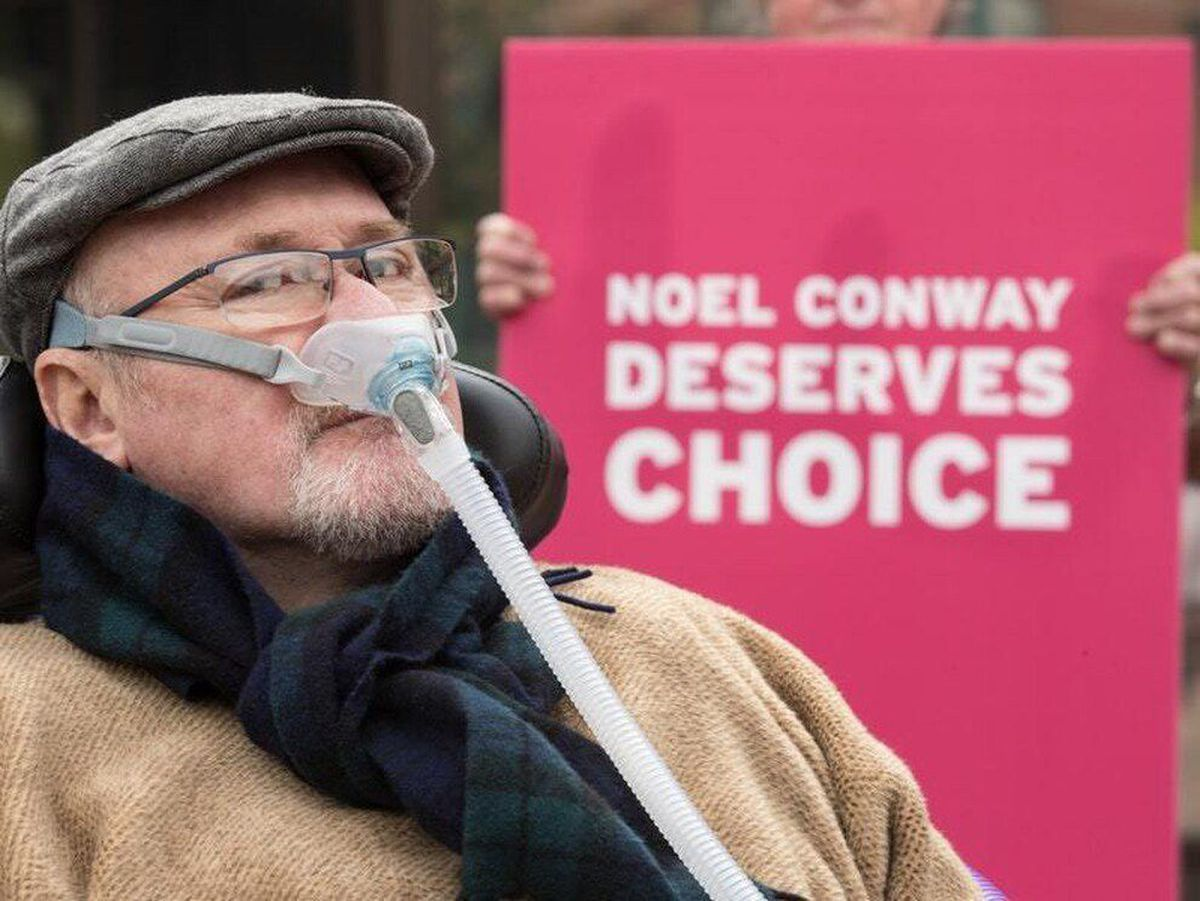 Assisted dying campaigner Noel Conway