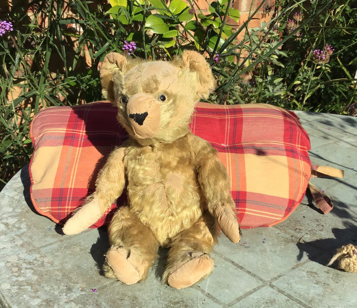 The much-travelled and much-loved Edward Bear