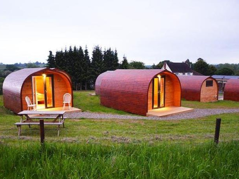 Ludlow glamping site up for sale for £2m