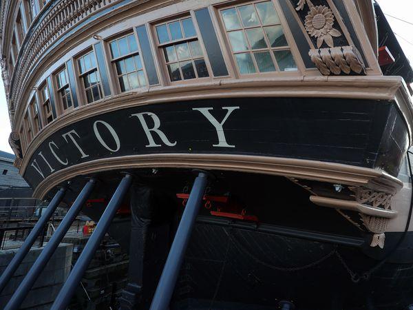 HMS Victory biennial painting