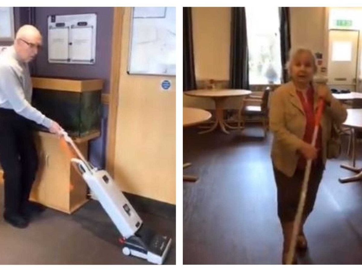 Residents' TikTok videos bring 'fun and laughter' to care home