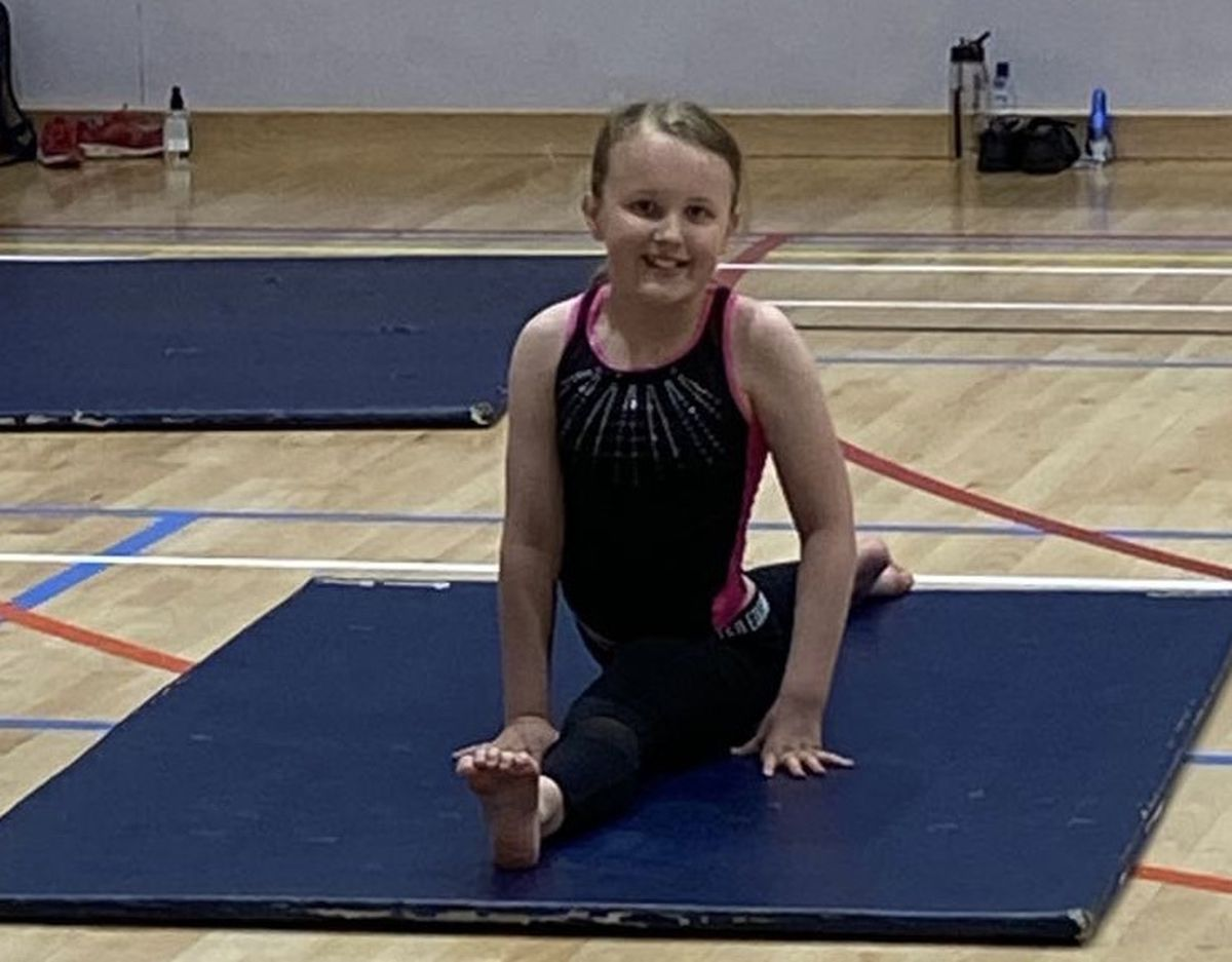 Summer Williams of Edge Gymnastics