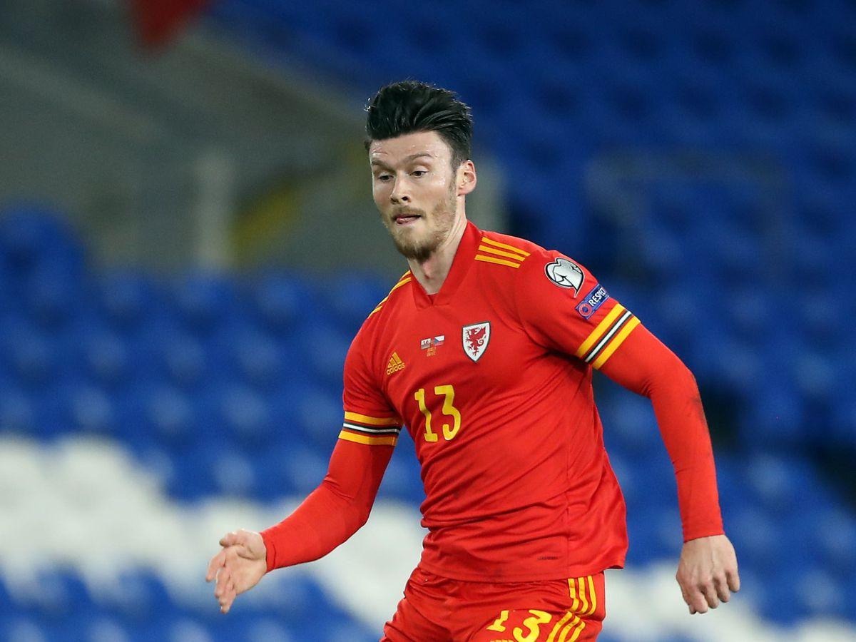 Wales striker Kieffer Moore