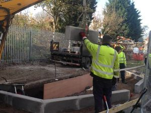The foundations being put into place