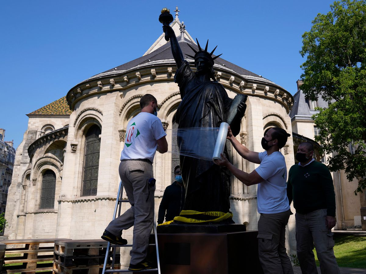 France's smaller Statue of Liberty to join big sister for ...