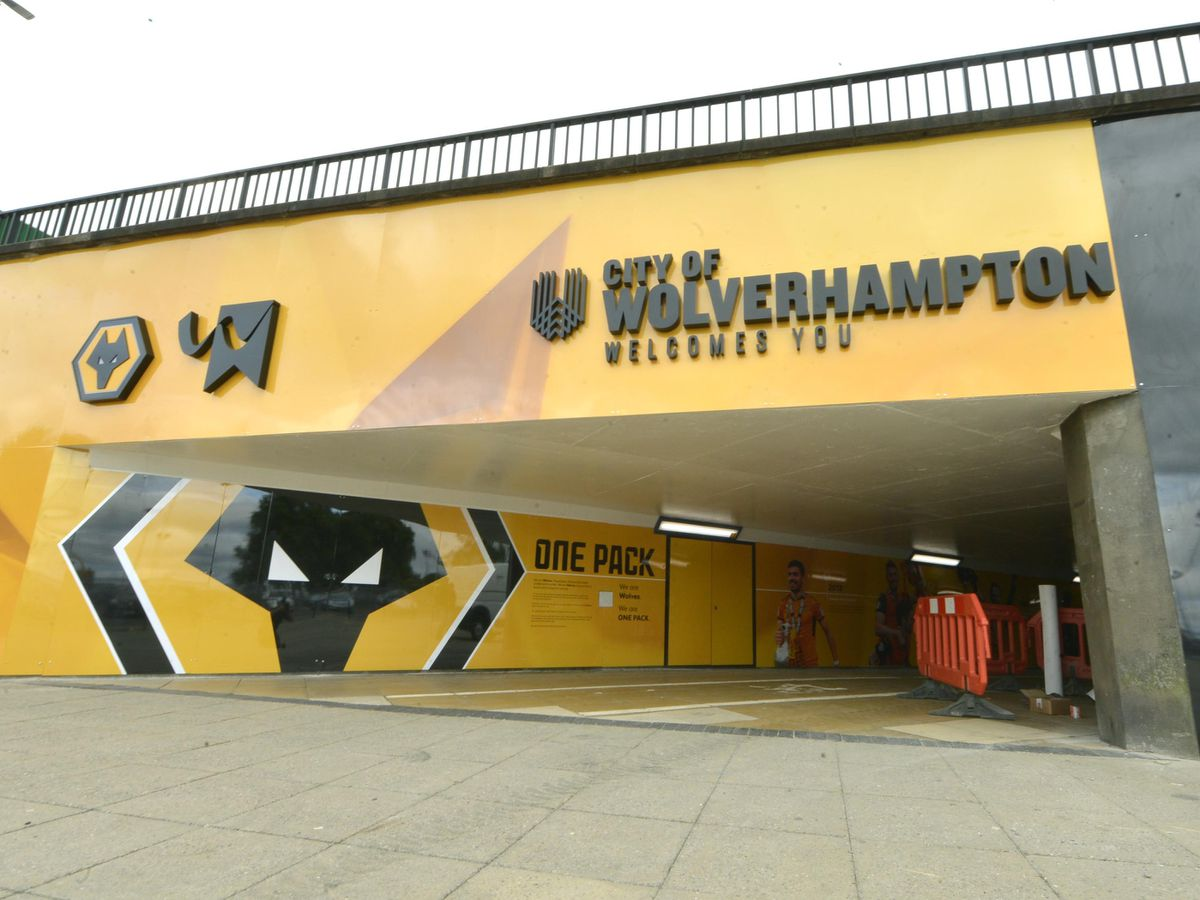 The Molineux subway runs under the ring road in Wolverhampton