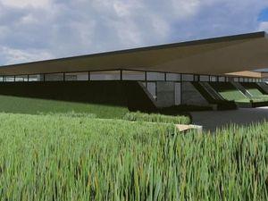 How the Crematorium could look.