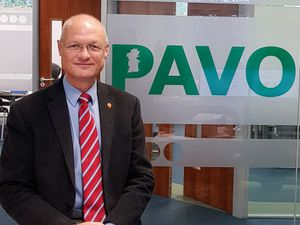 Carl Cooper - chief executive of PAVO - Powys Association of Voluntary Organisations.