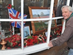 'Let there be peace': Remembrance display taken step further