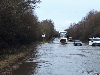 Mid Wales and Oswestry braced for snow following floods