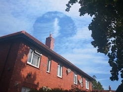 Strange sightings in skies above Shrewsbury