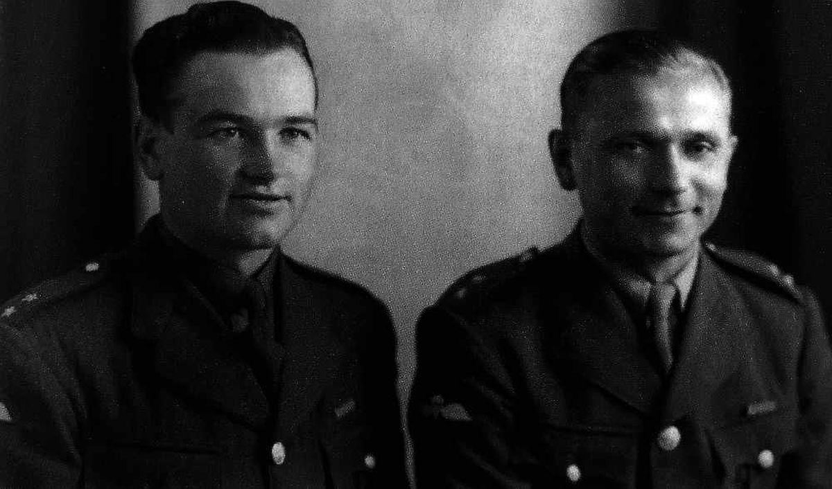 Josef Gabcik and Jan Kubis