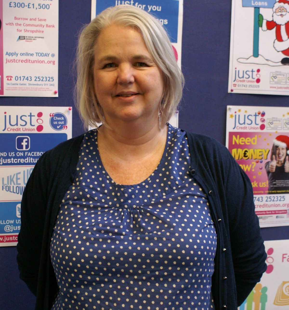 Karen Farrow says Just Credit Union will be helping residents to have the best possible festive season
