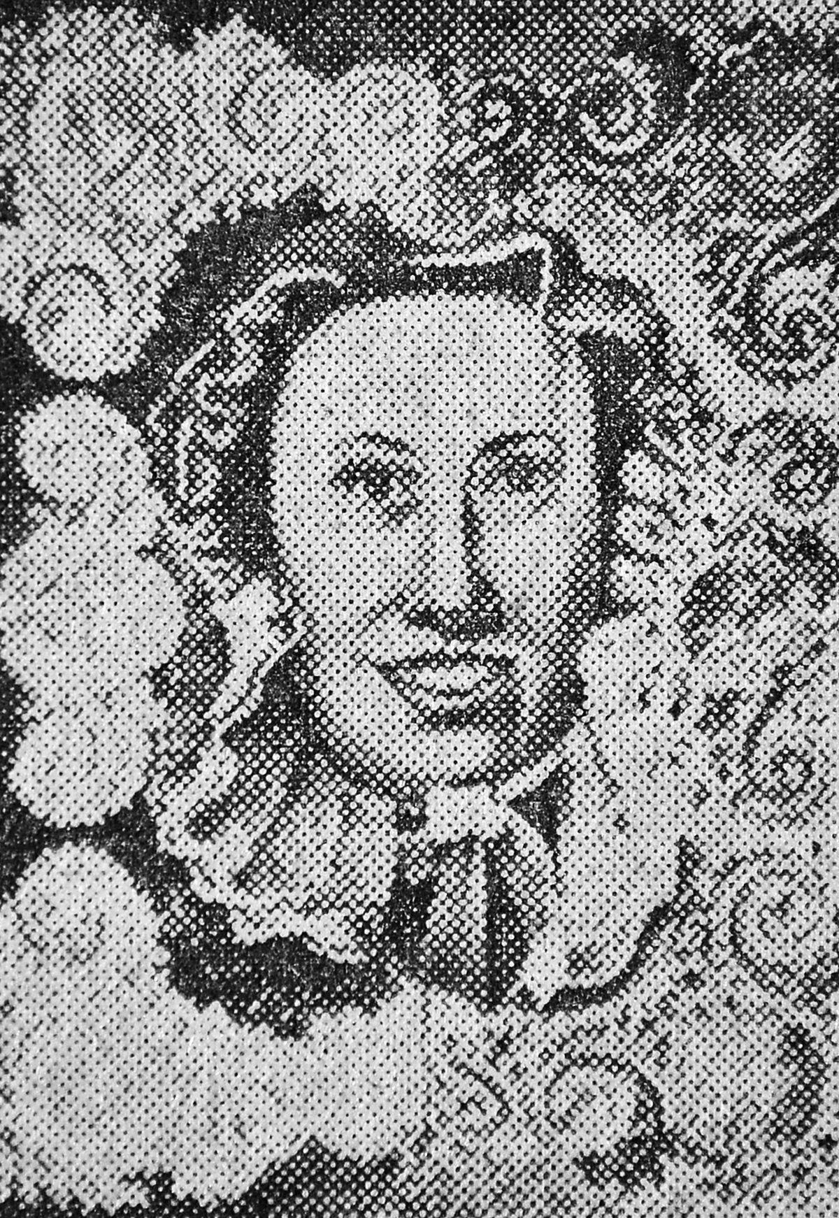 A self portrait of Miss Parker