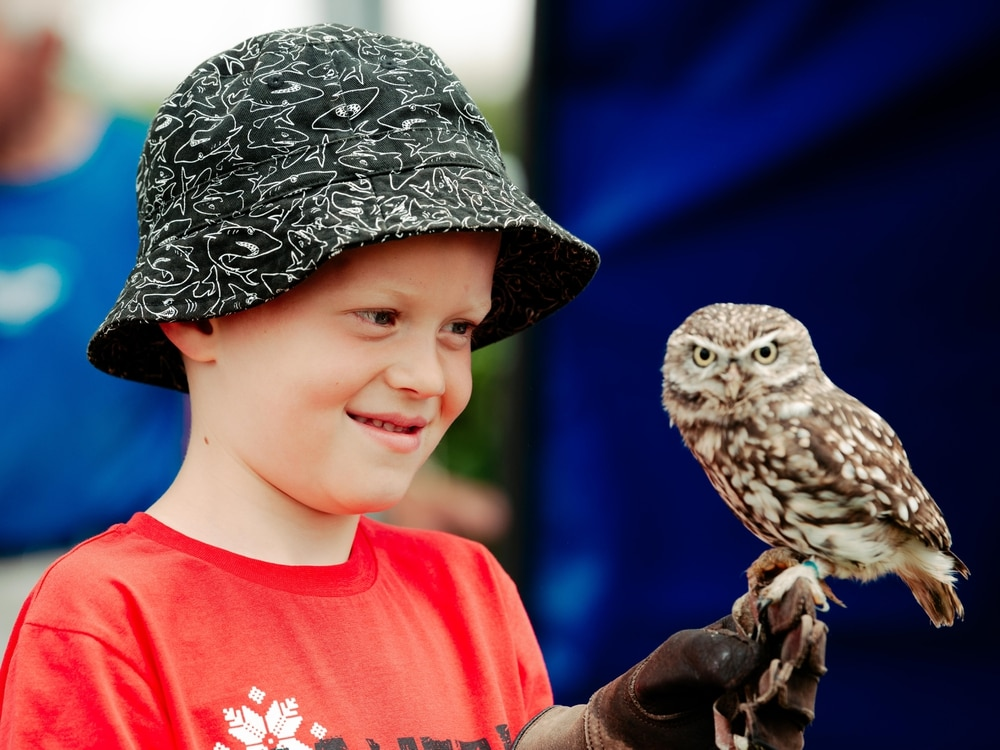 Chelmarsh Village Fete is a real hoot - in pictures