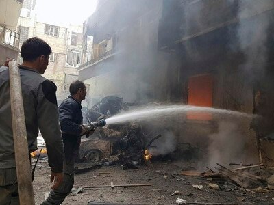 Death toll from market attack in Syrian capital rises to 38