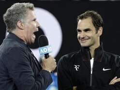 Watch: Will Ferrell gatecrashes Roger Federer's post match interview at the Australian Open
