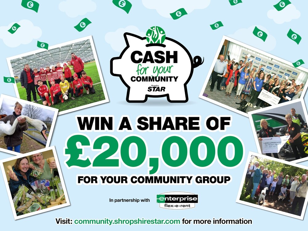 Cash For Your Community 2019 - who do you want to get a share of our