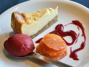 Sweet treat – white chocolate cheesescake