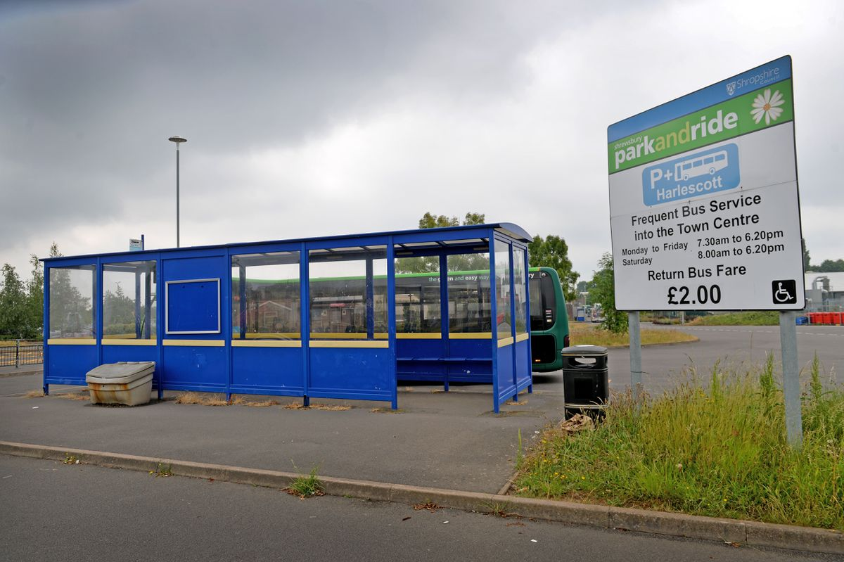 Harlescott park and ride will be closed temporarily
