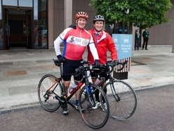 Shrewsbury business people to cycle 150 miles for charity
