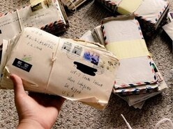 Student finds hundreds of letters from her parents' long-distance relationship