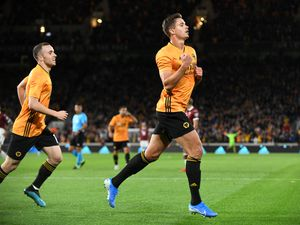 Leander Dendoncker netted his third goal in Wolves colours (© AMA / Sam Bagnall)