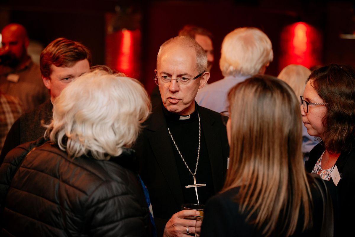 The Archbishop of Canterbury at Ludlow Brewery