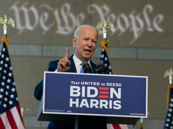 Biden urges Republican senators not to push through a Ginsburg nominee