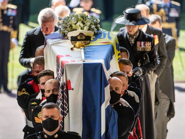 The pall bearers at Prince Philip's funerals were Royal Marines