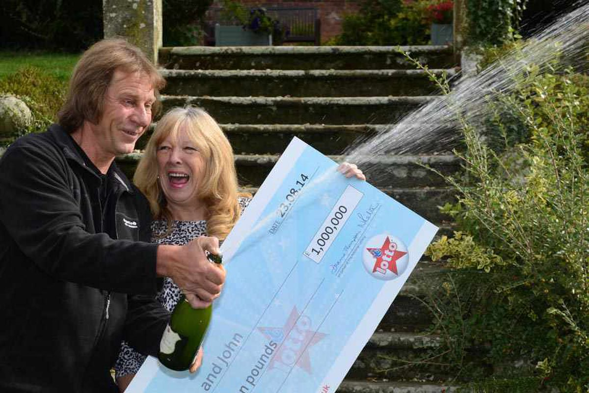 Shropshire's £1 million lottery winner was down to her last £20