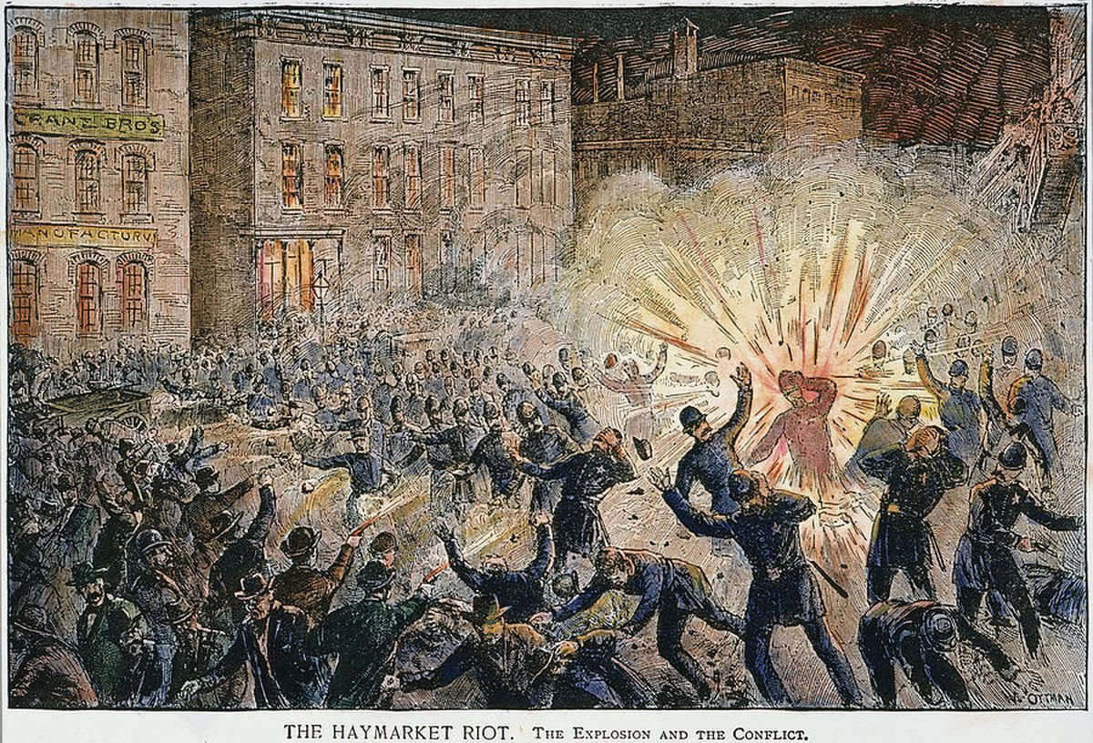 International Workers Day, or Labour Day as it is sometimes known, traces its roots back to an incident at Haymarket in Chicago in 1886
