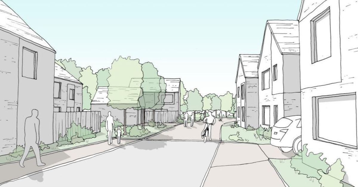 Longford Turning development - artist's impression