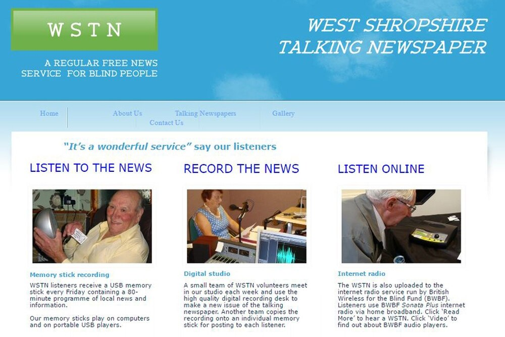 Appeal for talking newspaper | Shropshire Star