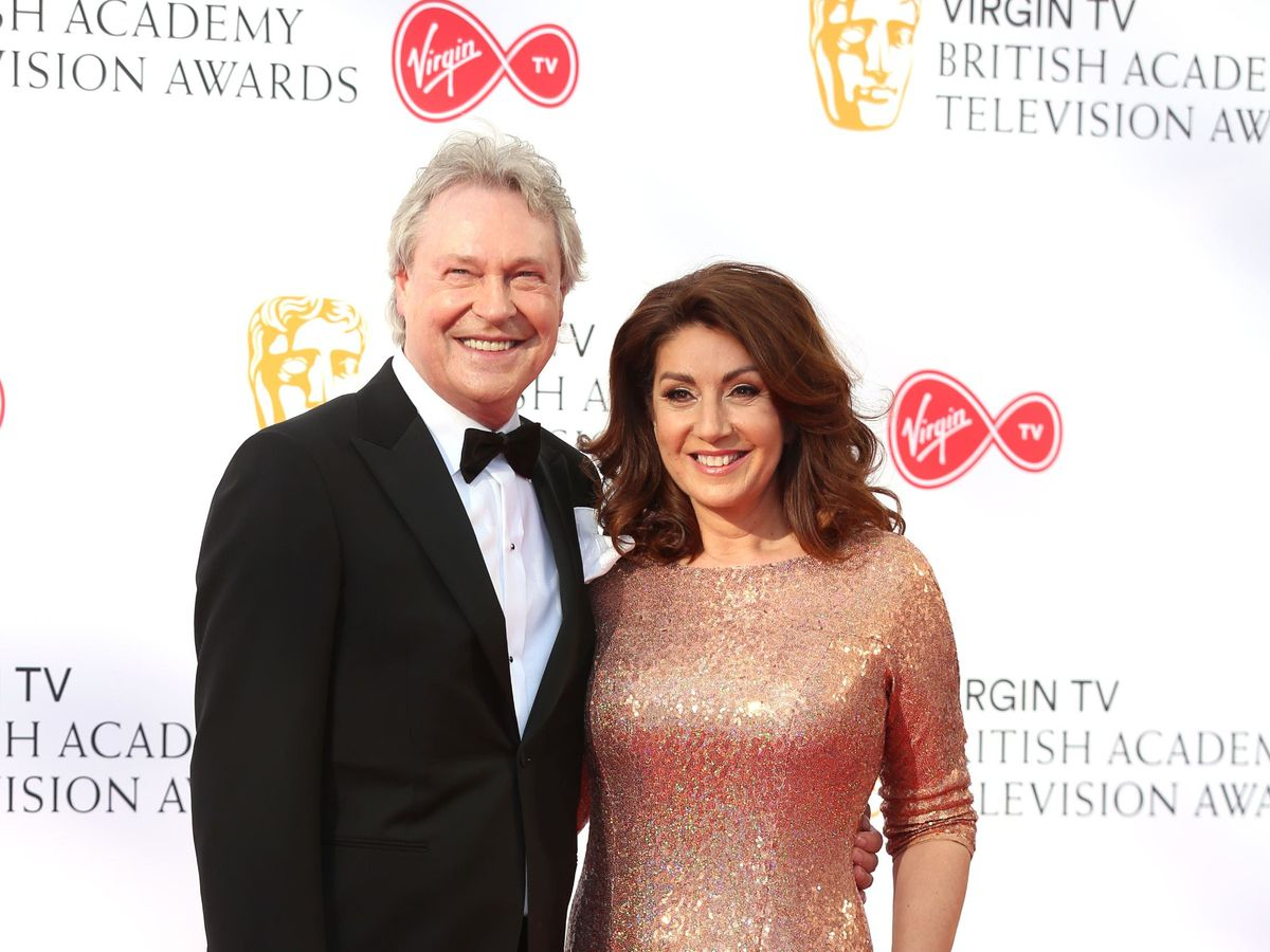 Jane McDonald and Eddie Rothe