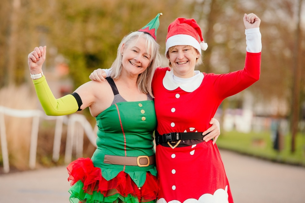 Christmas Parkrun.Gallery Christmas Joy As Runners Stride Out On Telford
