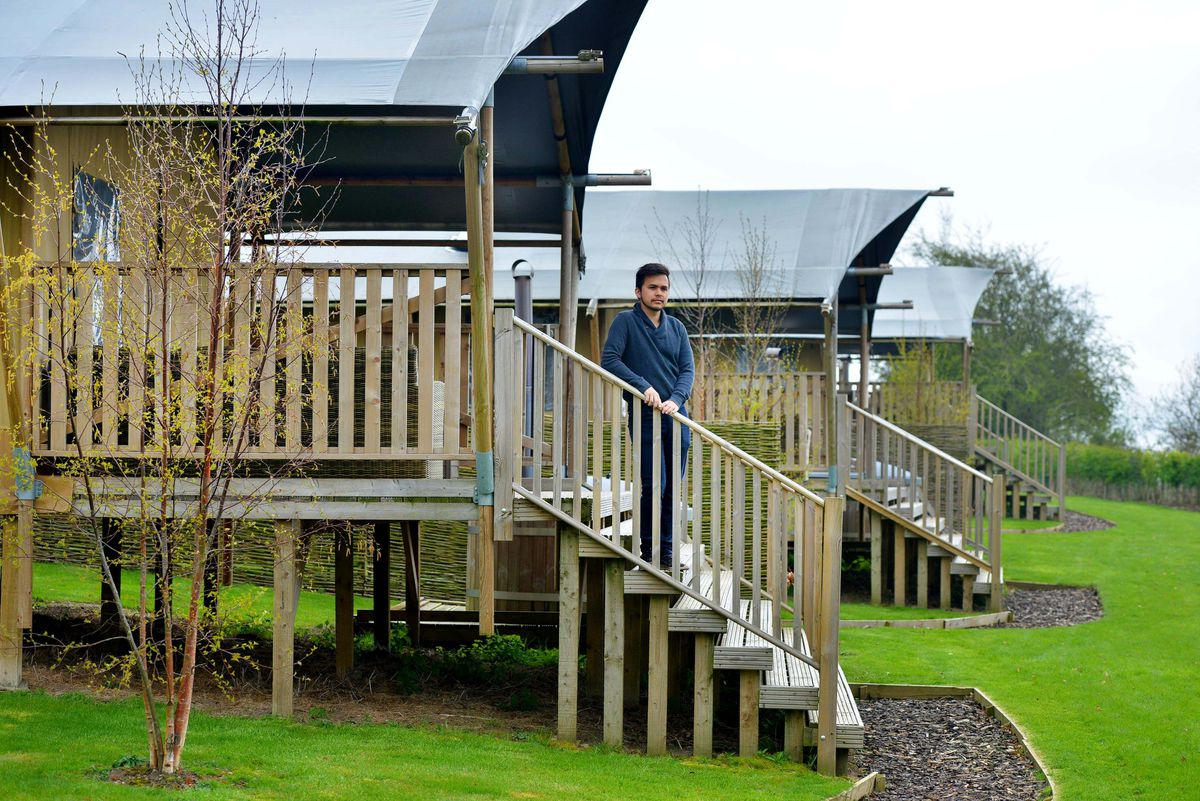 The business has invested in its outdoor and glamping facilities
